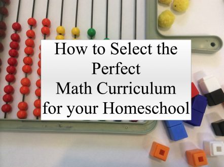 how to select the perfect math curriculum