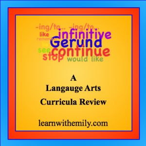A language arts curricula review, learn with emily dot com