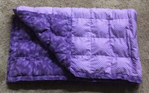 Diy Washable Weighted Blanket Learn With Emily