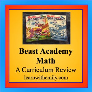 Beast Academy Math: A curriculum review, learn with emily dot com