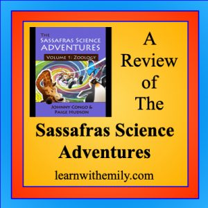 A review of the sassafras science adventures, learn with emily dot com