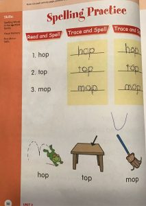 Spell & Write Activity Book