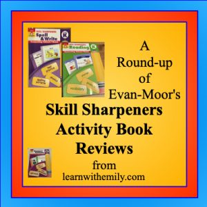 a round up of evan moor's skill sharpeners activity book reviews from learn with emily dot com
