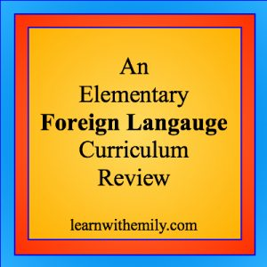 an elementary foreign language curriculum review