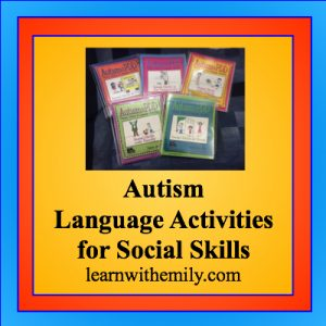 A review of autism and pdd picture stories and language activities for social skills, learn with emily dot com