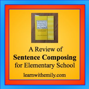 A review of sentence composing for elementary school