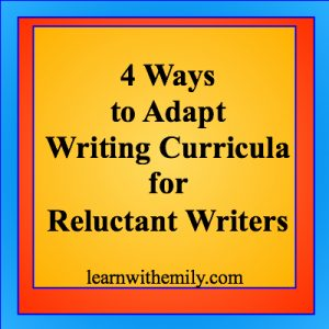 4 ways to adapt writing curricula for reluctant writers