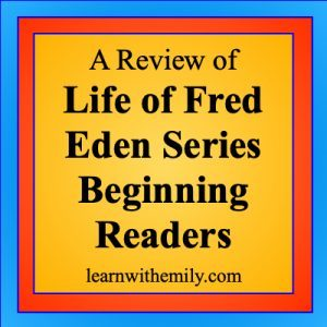 a review of life of fred eden series beginning readers learn with emily dot com