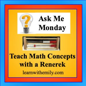 Ways to teach math concepts with a renerek